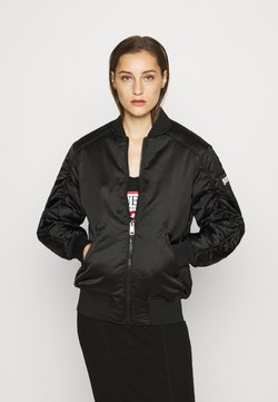 Guess - ERMIN JACKET - Giubbotto Bomber - jet black