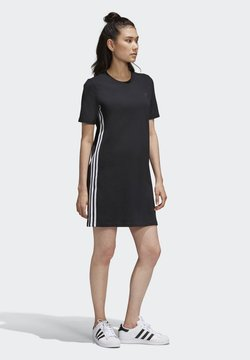 adidas Originals - ADICOLOR SPORTS INSPIRED REGULAR DRESS - Freizeitkleid - black/white