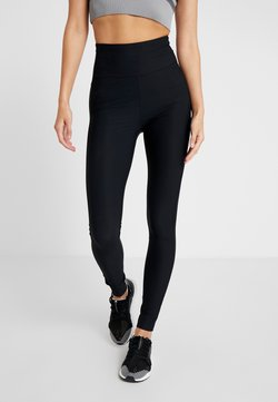 Filippa K - COMPRESSION ZIP - Medias - black