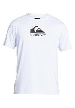 Quiksilver - QUIKSILVER™ SOLID STREAK - KURZÄRMLIGES SURF-T-SHIRT MIT UPF 50  - T-shirt de surf - white