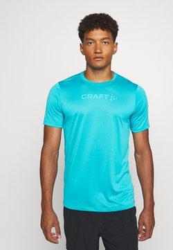 Craft - CORE ESSENCE TEE  - Camiseta estampada - blue