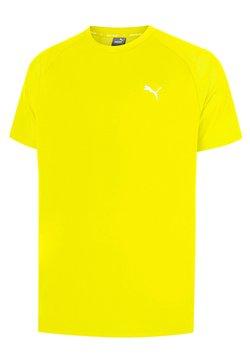 Puma - T-Shirt print - yellow alert
