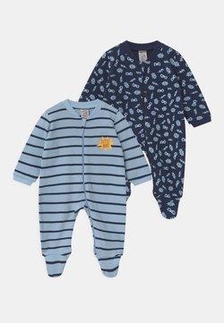 Jacky Baby - BOYS 2 PACK - Tutina - blue/dark blue