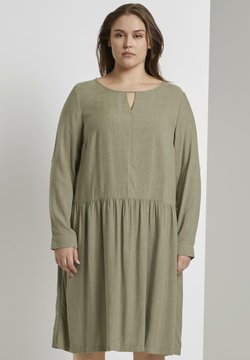 MY TRUE ME TOM TAILOR - Jerseykleid - new light khaki melange