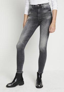 G-Star - KAFEY STUDS ULTRA HIGH SKINNY  - Jeans Skinny Fit - vintage basalt