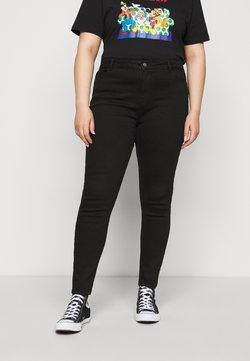 Pieces Curve - PCKAMELIA - Jeans Skinny Fit - black
