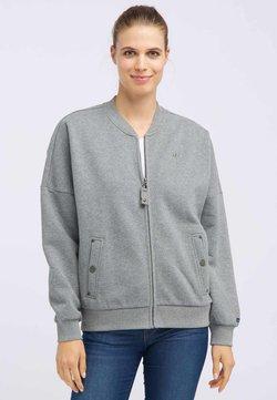 DreiMaster - Cardigan - mottled grey
