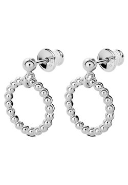 No More - CHAMPAGNE CIRCLE EARRINGS - Ohrringe - silver