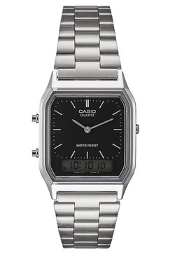 Casio - Uhr - silver-coloured/black