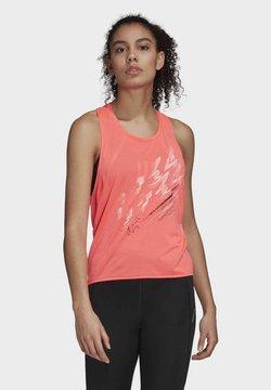 adidas Performance - SPEED TANK TOP - Top - pink