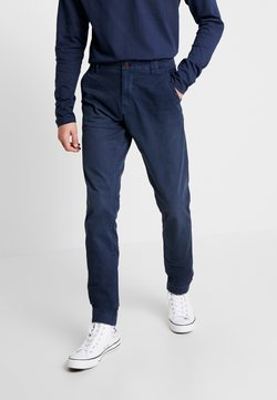 Tommy Jeans - SCANTON WASHED PANT - Chinot - dark blue