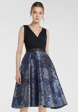Apart - Cocktailkleid/festliches Kleid - nachtblau-multicolor