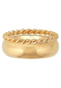 Elli - SET - Ring - gold colored