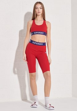Superdry - SPORTSTYLE ESSENTIAL - Tights - risk red