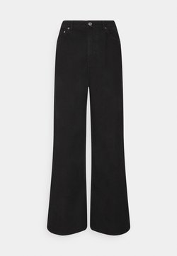 Weekday - LINEAR  - Flared Jeans - washed black