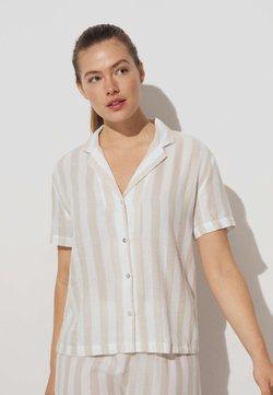 OYSHO - Nachtwäsche Shirt - beige