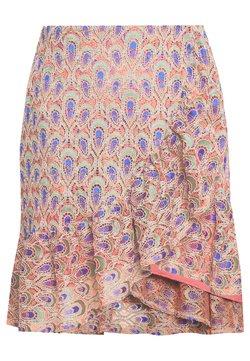 Trendyol - Spódnica trapezowa - fuchsia