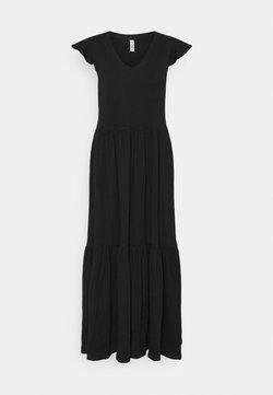ONLY Tall - ONLMAY LIFE FRILL CALF DRESS - Maxikleid - black