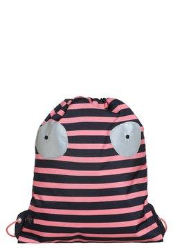 Lässig - MINI STRING BAG LITTLE MONSTERS MAD MABLE SPORTBEUTEL - Plecak - pink/blue