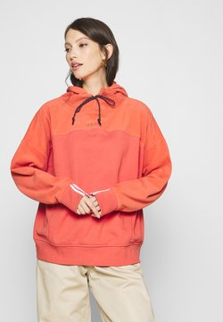 adidas Originals - SPORTS INSPIRED LOOSE HOODED  - Kapuzenpullover - coral