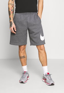 Nike Sportswear - Shorts - charcoal heathr/white