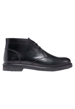 Timberland - OAKROCK LT CHUKKA - Smart lace-ups - jet black