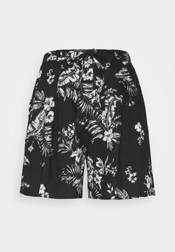 Dorothy Perkins Tall - TALL TIE WAIST  - Shorts - black