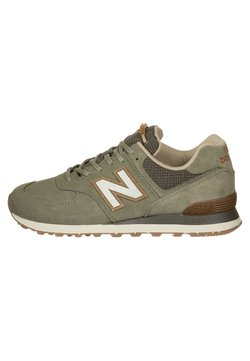 New Balance - 574 - Matalavartiset tennarit - green