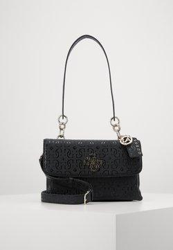 Guess - CHIC SHINE SHOULDER BAG - Käsilaukku - black