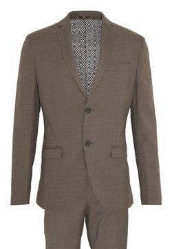 Isaac Dewhirst - PLAIN SUIT - Anzug - brown