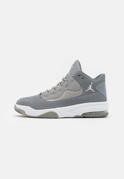 Jordan - MAX AURA 2 - Sneaker high - med grey/white/cool grey