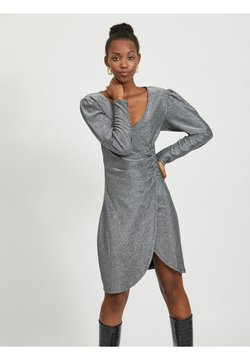 Vila - Cocktailkleid/festliches Kleid - silver colour