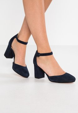 Anna Field - LEATHER CLASSIC HEELS - Pumps - dark blue