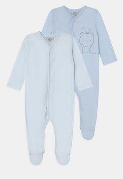 OVS - NEWBORN ROMPERS 2 PACK UNISEX - Pijama de bebé - dream blue