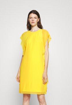 Lauren Ralph Lauren - OLOKUN CAP SLEEVE DAY DRESS - Cocktailkleid/festliches Kleid - lemon rind