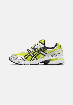 ASICS SportStyle - GEL-1090 UNISEX - Sneaker low - lime zest/black
