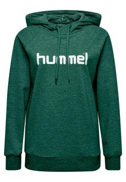 Hummel - Hoodie - evergreen