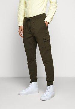 Polo Ralph Lauren - DOUBLE TECH - Jogginghose - olive