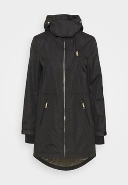 MICHAEL Michael Kors - EMBOSSED ANORAK - Wollmantel/klassischer Mantel - black