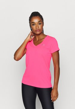 Under Armour - TECH - T-Shirt basic - cerise