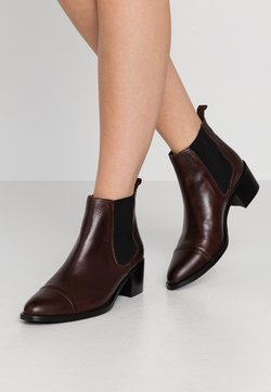 Bianco - DRESS CHELSEA - Ankle Boot - dark brown