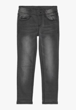 s.Oliver - Slim fit jeans - grey/black denim