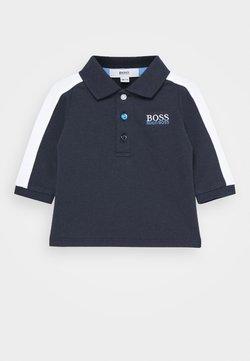 BOSS Kidswear - LONG SLEEVE BABY - Poloshirt - navy
