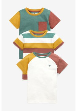 Next - 3 PACK  - T-Shirt print - multi-coloured