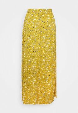 ICHI - IHVERA - Jupe longue - bronze