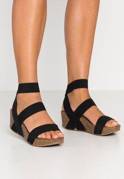 Madden Girl - ZOEY - Korkeakorkoiset sandaalit - black