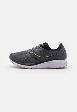 Saucony - GUIDE 14 - Zapatillas de running estables - charcoal/rose