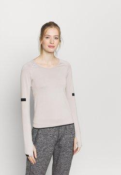 Even&Odd active - SEAMLESS  - Camiseta de manga larga - grey