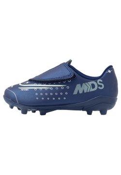 Nike Performance - MERCURIAL VAPOR 13 CLUB MG - Scarpe da calcetto con tacchetti - blue void/metallic silver