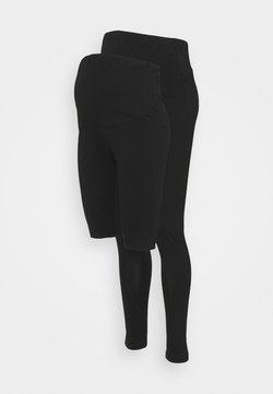 Anna Field MAMA - SET - Shorts - black/black